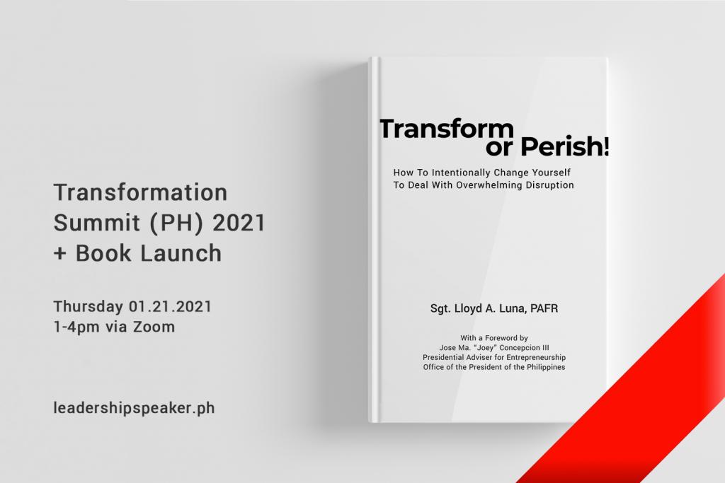 RSVP Transform or Perish Book