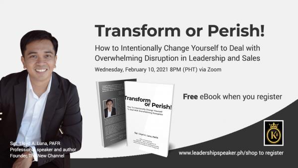 Leadership Transformation SMDC K8